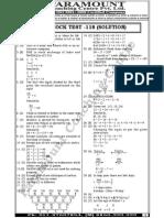 mock test 118 solution