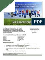 NLP - Kommunikation, Ledarskap Och Personlig Utveckling 2015-2016