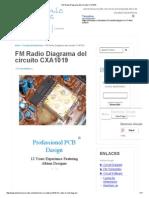 FM Radio Diagrama del circuito CXA1019.pdf