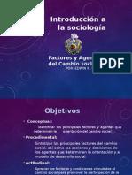 Factores Del Cambio Social