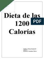 Día 1 dieta