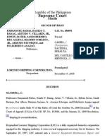 011. Babas vs. Lorenzo Shipping Corp