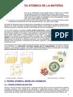 Extructura Atomica de La Materia