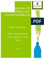 Manual de Construccin de Ecoladrillos UGA 2013