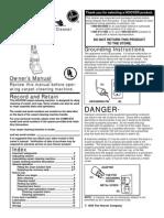 Hoover Steamvac Owners Manual
