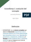 Ecosistemas 1-Abril 2014