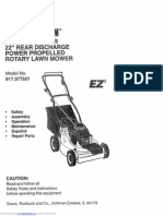 Craftsman 5.0 HP Lawnmower owners manual