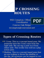 5 Step Crossing Routes