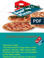 Presentation on Dominos