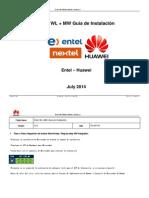 ENTEL WL+MW Guia de Instalacion V2.6