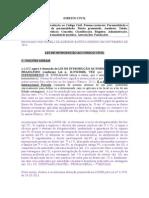 TRF5 - 2013 - Ponto 1 - Direito Civil