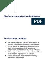 Diseño de Arquitectura ADS2015_I
