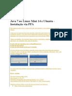 Java 7 Como Instalar No Linux