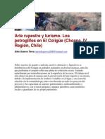 Guerra 2013_Arte Rupestre y Turismo. Los Petroglifos en El Coligüe (Choapa, IV Región, Chile) .