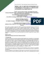 Validación de un método experimental de síntesis por biorreducción