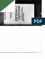 DELEUZE, Gilles (1953) - Empirismo y subjetividad. Las bases filosóficas del anti-Edipo (Granica, Barcelona, 1977).pdf