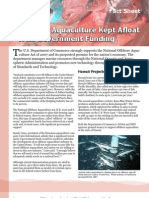 Offshore Aquaculture Kept Afloat With Government Funding