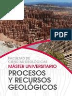 Procesos y recursos geológicos