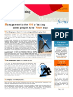 Management is the Art - Feb 2010 E-Newsletter