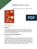 Huevos Verdes y Jamón (Spanish)