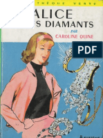 Alice Et Les Diamants - Caroline Quine