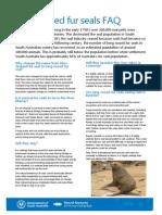 River Murray Seals FAQ
