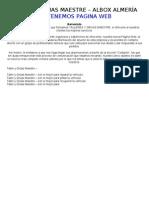 TALLER Y GRÚAS MAESTRE – ALBOX ALMERÍA - tu serguridad (Taller y Gruas Maestre SL)