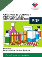 Control y Prevencion de Riesgos en Laboratorios Farmaceuticos