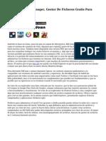 ASTRO Archivo Manager, Gestor De Ficheros Gratis Para Android