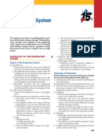 Study Guide for the RN NCLEX-RN EXAM 15 Respiratory System