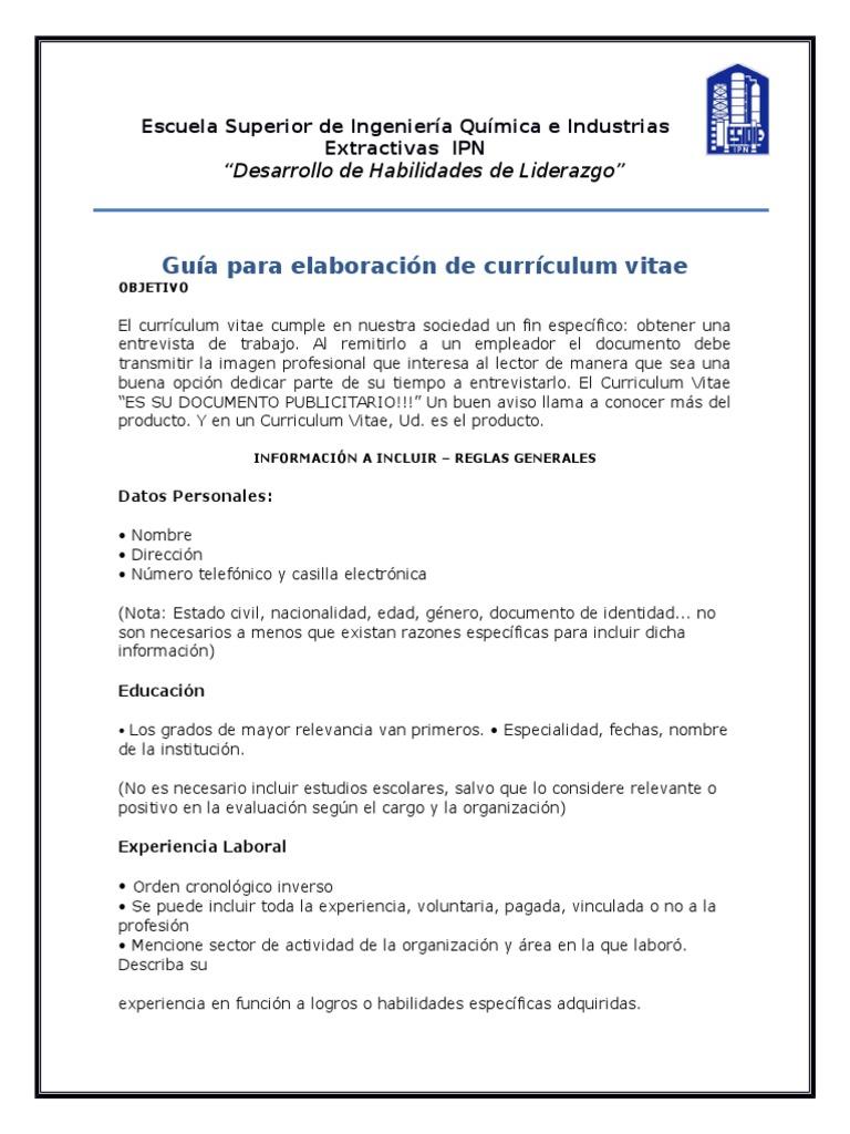 Vistoso Curriculum Vitae Mejorado Friso - Ejemplo De Colección De ...