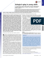 Belsky Daniel Et Al., Quantification of Biological Aging in Young Adults