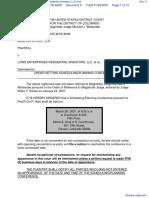 Memphis Street LLC v. Lowe Enterprises Residential Investors, LLC et al - Document No. 6
