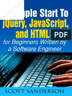 JQuery, JavaScript, And HTML5 - Scott Sanderson