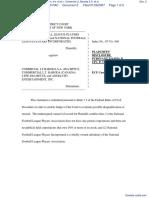 National Football League Players Association, Inc. et al v. Comercial Lt. Baroda S.A. et al - Document No. 2