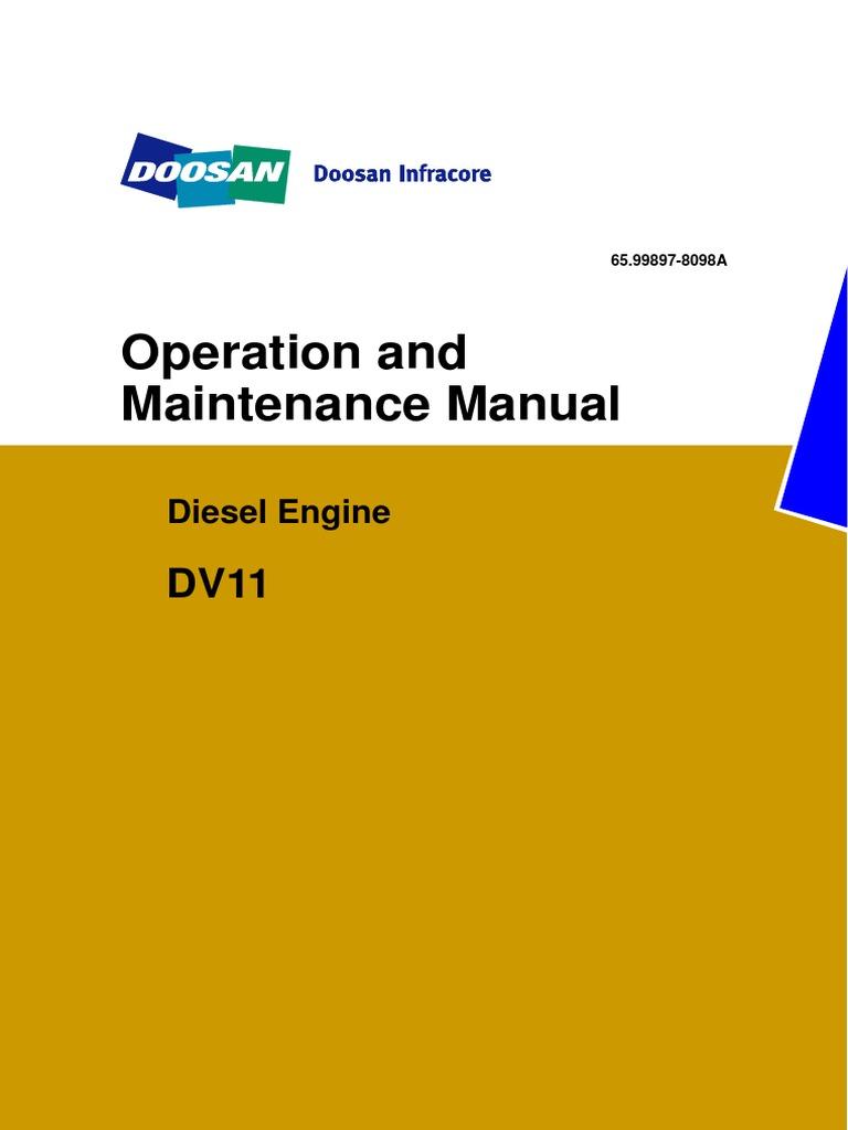 Manual DV11 | Internal Combustion Engine | Turbocharger on
