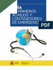 Guia de Primeros Auxilios y Contenedores de Emergencia