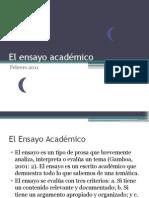 El Ensayo Academico (1)