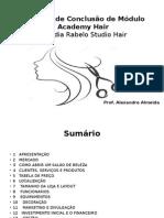 Trabalho de Conclusão de Módulo Academy Hair