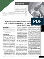 Aplicacion Del IGV e IR a Consorcios, Registro de Costos Formatos (10.1, 10.2 y 10.3), Incidencia Tributaria en La Reorganizacion de Sociedades