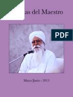 Charlas Del Maestro 2015 MAY JUL