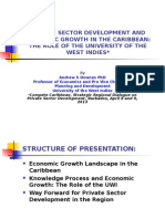 Private Sector Development and Economic Growth