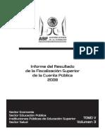 Informe ASF Cuenta Público 2008