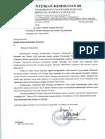 Surat Edaran Kepala Dinas Prov
