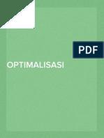 Optimalisasi Desain Parameter Lapangan Untuk Data Resistivitas Pseudo 3d