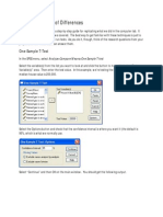 Spss Guide Differences