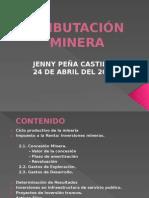 DERECHO MINERO PERUANO. TRIBUTACIÓN MINERA EN EL PERÚ