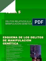 TEMA 5 Delitos Relativos a La Manipulacion Genetica (1)