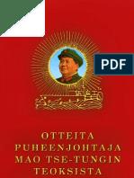 Mao Zedong - Punainen Kirja