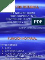 Derecho Notarial Peruano. Función y Normativa